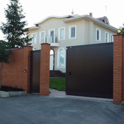 otkatnie vorota 1 - Продажа, монтаж, обслуживание и ремонт ворот и шлагбаумов