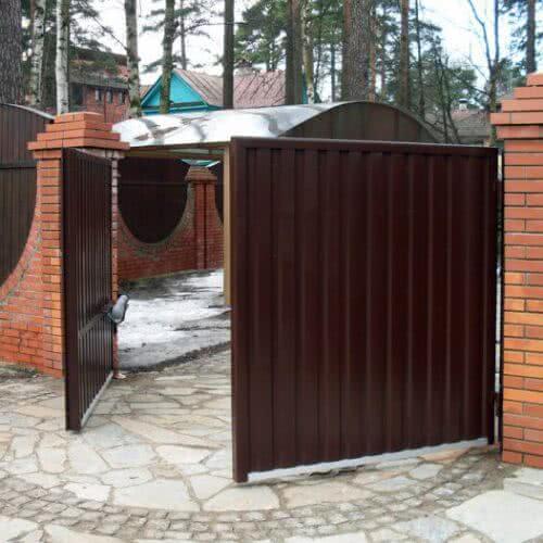 raspashnie vorota - Продажа, монтаж, обслуживание и ремонт ворот и шлагбаумов