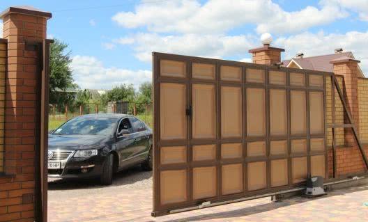12otkatnye vorota - Откатные ворота