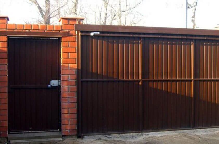 663 image008 - Откатные ворота