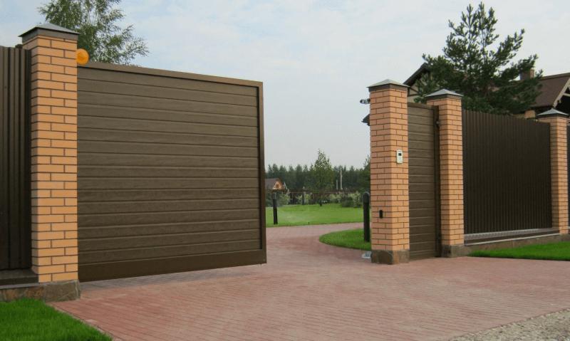 68 - Откатные ворота