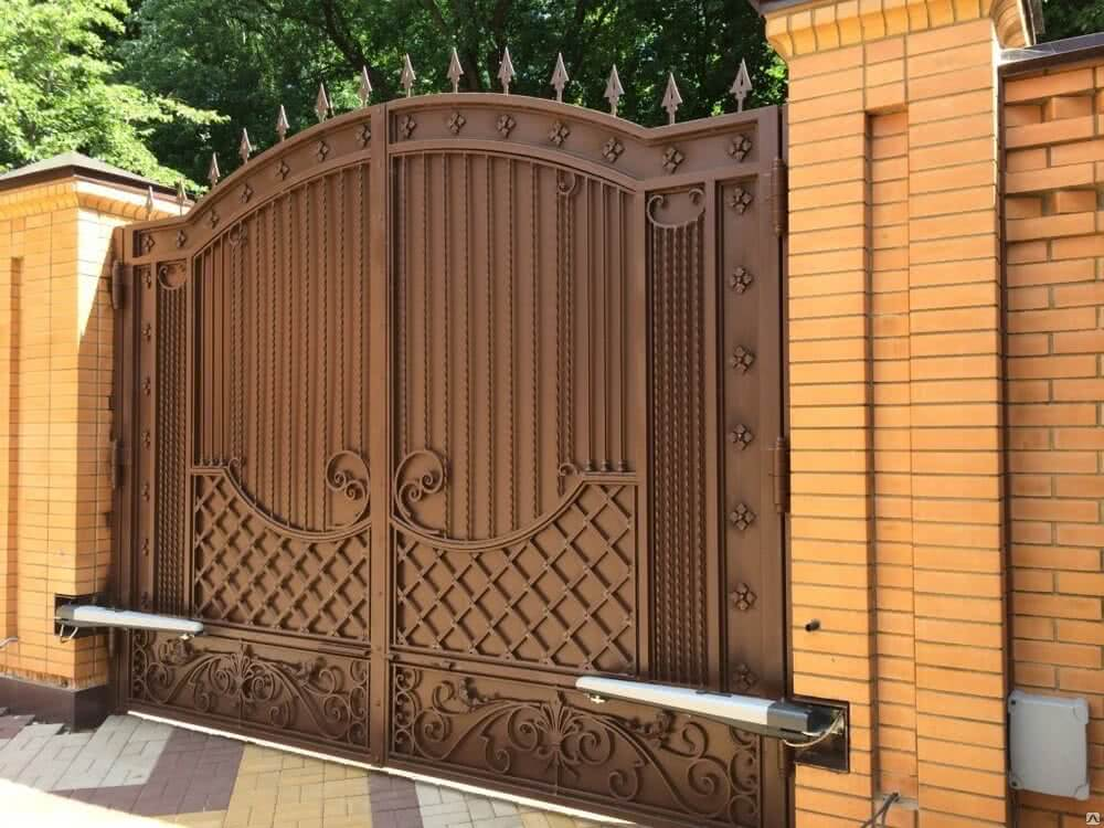 718 big - Распашные ворота