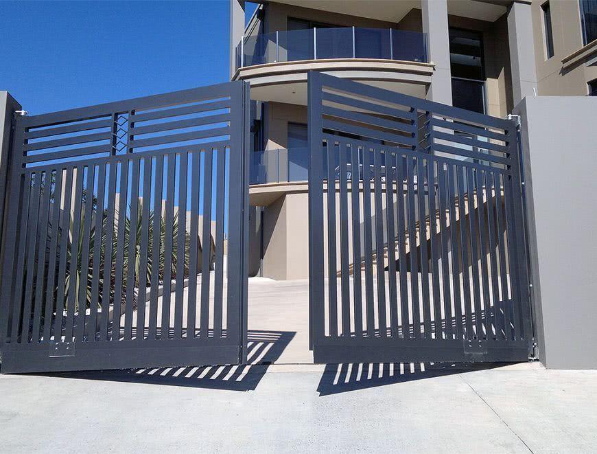 Автоматические распашные ворота – разнообразие вариантов