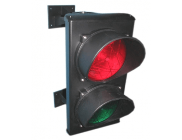 Cветофор TRAFFICLIGHT-LED 230В (зеленый красный)