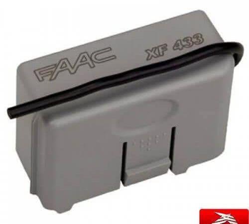 Faac XF 433 радиоприёмник встраиваемый