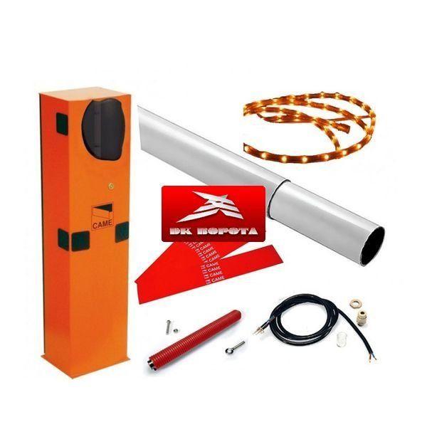 CAME GARD 3750 (дюралайт) шлагбаум автоматический с подсветкой стрелы 3,75 м.