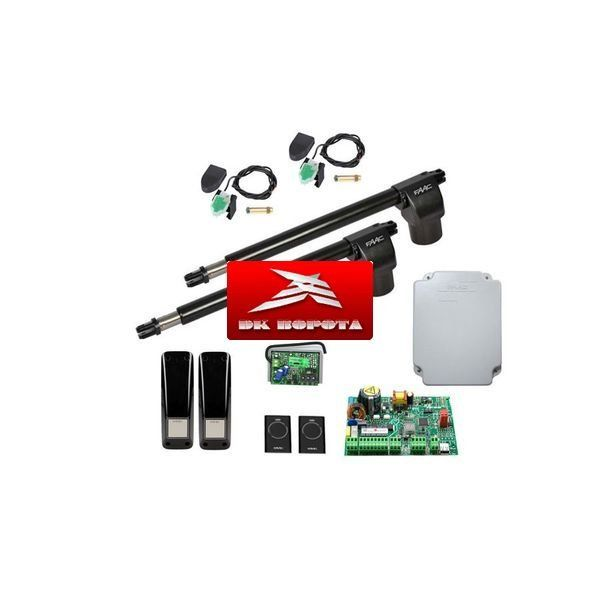 FAAC 414 KIT автоматика для распашных ворот
