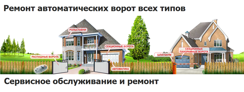 remont vorot odincovo - Продажа, монтаж, обслуживание и ремонт ворот и шлагбаумов