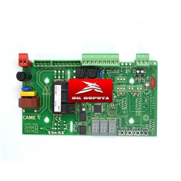 CAME ZBX6 плата блока управления 3199ZBX6