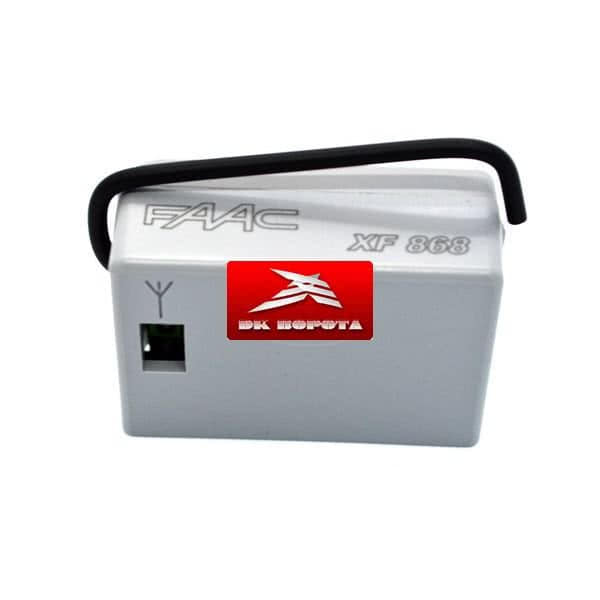FAAC 319007 Радиоприемник 2-канальный XF 868