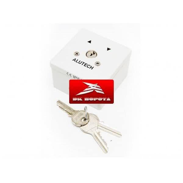 Alutech SAPF выключатель металлический кнопка-ключ для рольставен