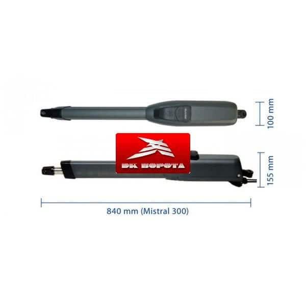 Genius Mistral LS 300 привод для распашных ворот