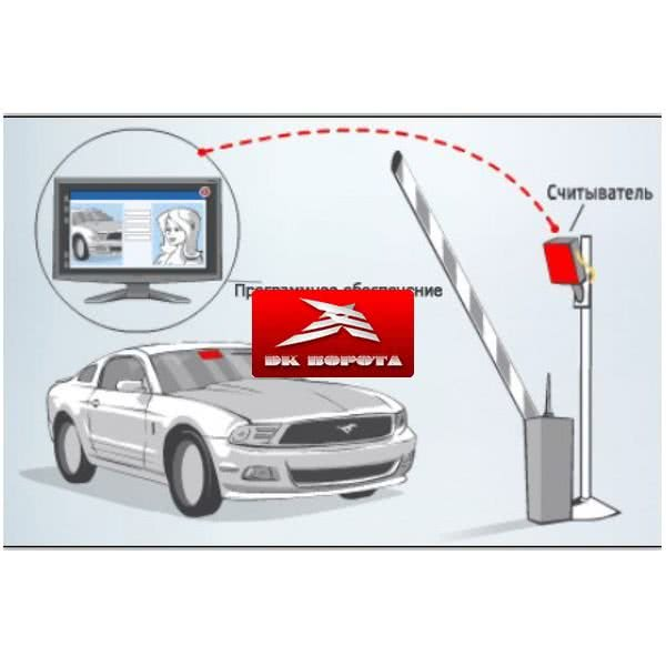 RFID Парковка 6 метров + ПО