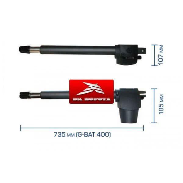 Genius G-Bat 424 привод для распашных ворот