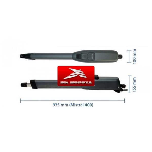 Genius Mistral LS 424 привод для распашных ворот
