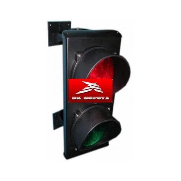 Came C0000710 светофор светодиодный, 2-секционный, красный-зелёный, 24 В.