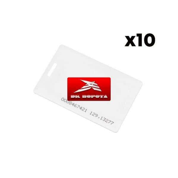Комплект из 10 RFID меток-идентификаторов