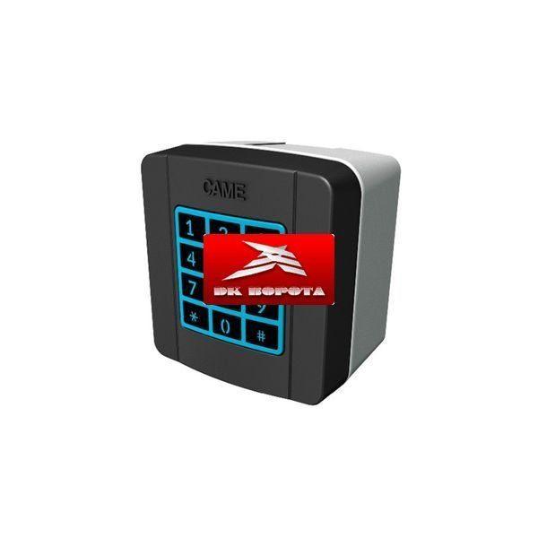 CAME 806SL-0150 SELT1NDG клавиатура кодонаборная накладная, 12 кнопок, синяя подсветка