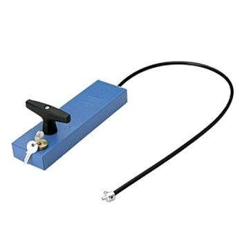 Ручка для разблокировки привода с ключом и тросом для внешней установки