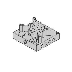 FAAC 4997645 блок клапанный в сборе для шлагбаумов 610, 615, 620, 640 серий
