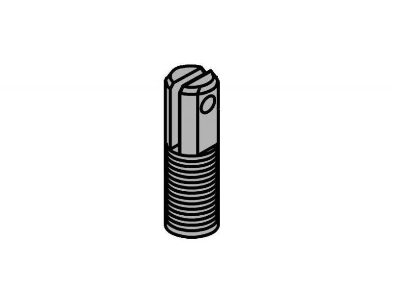 FAAC 7221005 вилка крепления гидроцилиндра с пружиной к верхнему шарниру для шлагбаумов 620/640