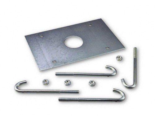 Анкерная пластина с крепежом для шлагбаума NICE WIDES/WIDEM/SBAR SIA1