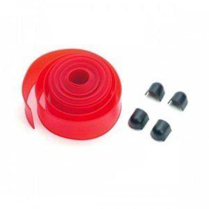 Пластиковые накладки (6 м) на стрелу шлагбаума BFT, красного цвета