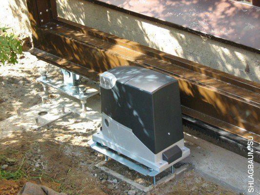 Комплект электропривода RD400 KIT2 Nice для откатных ворот массой до 400кг и шириной проёма до 6м