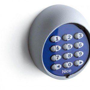 Цифровой выключатель для наружной установки, 12-и кнопочный (нужно комплектовать декодером MORX) MOT