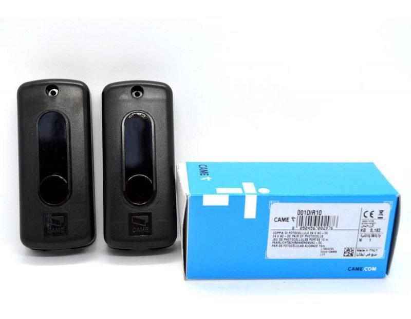 DIR10 — Фотоэлементы / передатчик, приемник / накладные, дальность 10 м