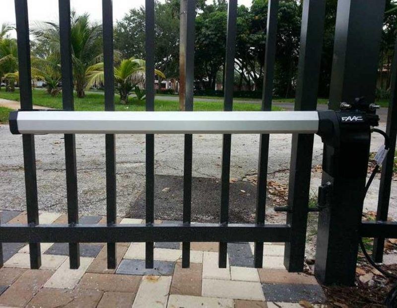 FAAC 412 автоматика для распашных ворот