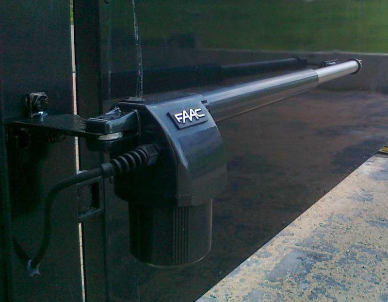 FAAC 414 автоматика для распашных ворот