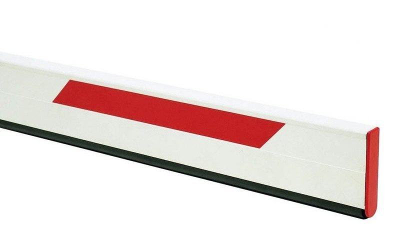 Стрела прямоугольная с демпфером FAAC 2,3 м. (428088)
