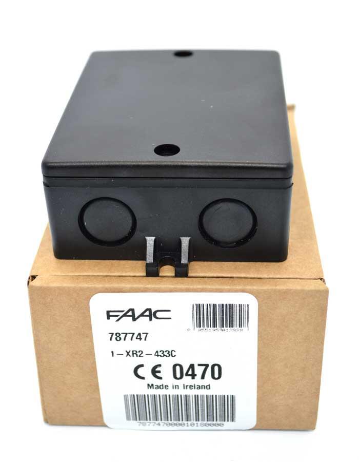 FAAC 787747 радиоприемник внешний XR 433