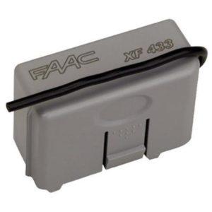 FAAC 319006 радиоприемник 2-канальный встраиваемый в разъем XF 433 МГц