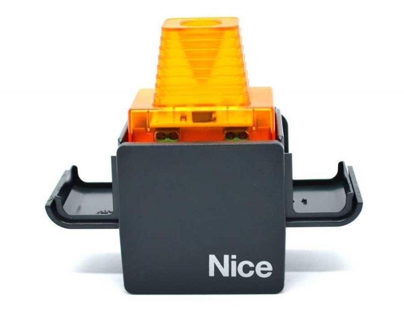 Nice ELAC прозрачная сигнальная лампа с антенной для ворот и шлагбаумов