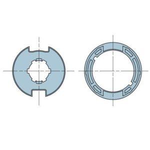 Адаптер для круглого вала 40 мм. 503.24000