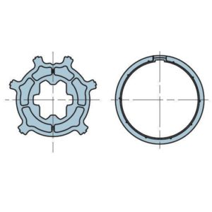 Адаптер для круглого вала 45 мм. 503.24615