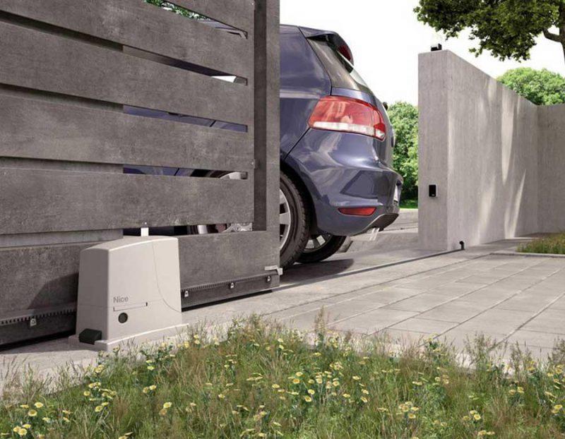 NICE ROX 600 KLT автоматика для откатных ворот