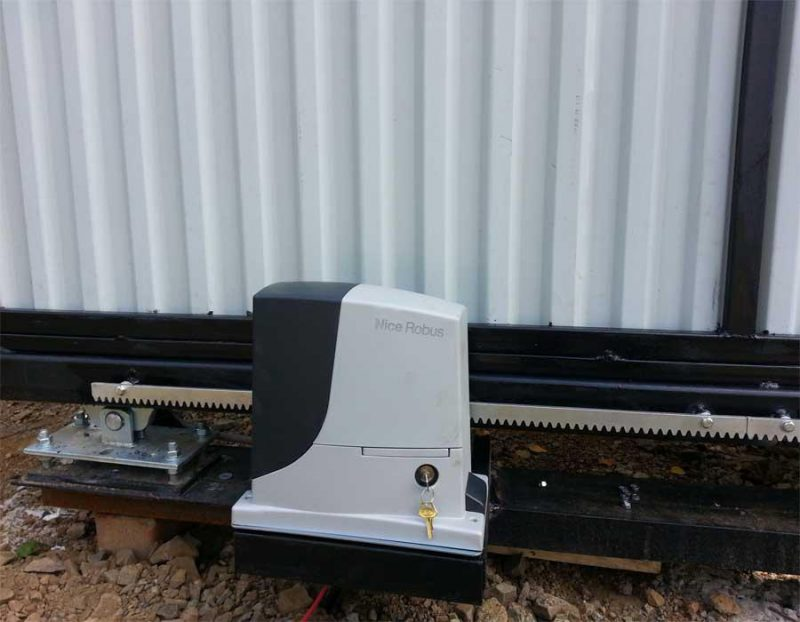 NICE RB 1000 KIT автоматика для откатных ворот