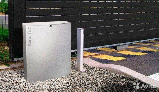 NICE TUB 3500 привод для откатных ворот