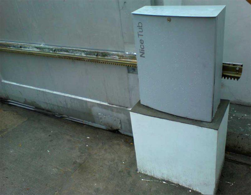 NICE TUB 3500 комплект для откатных ворот