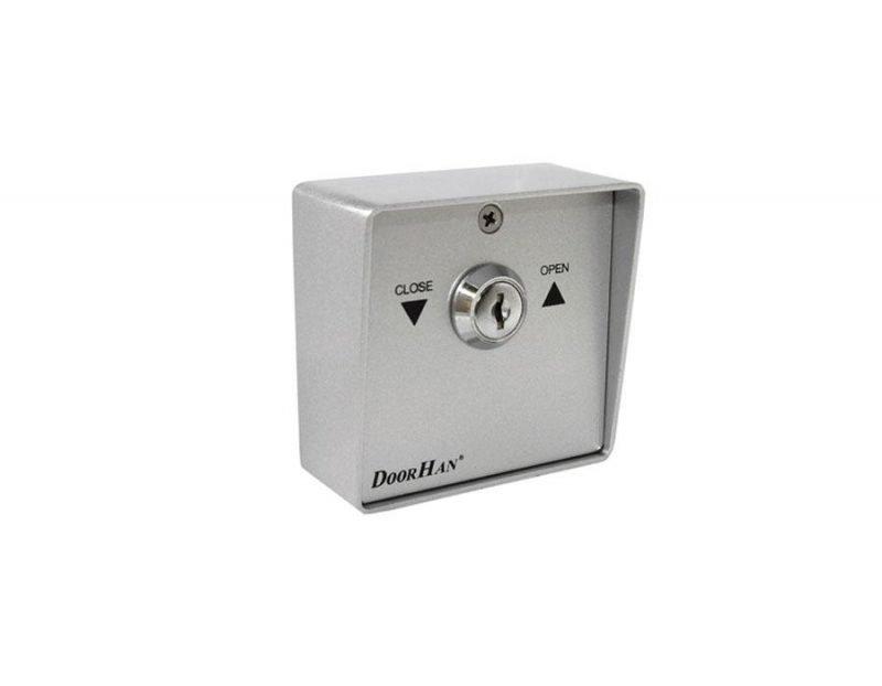 DoorHan SWM выключатель металлический кнопка-ключ для рольставен