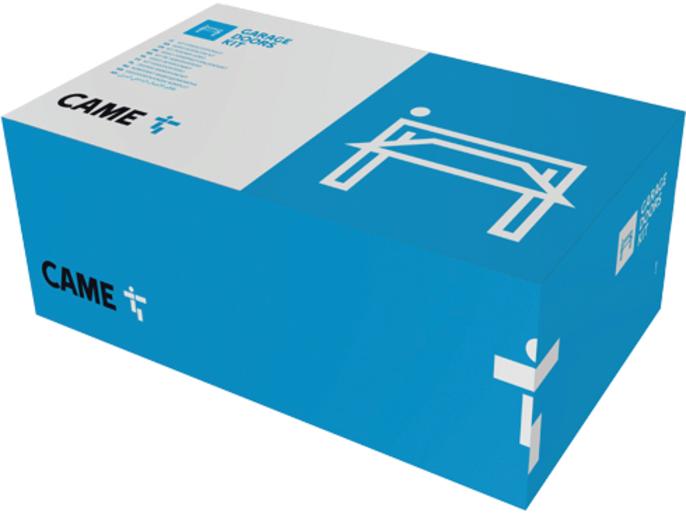 CAME VER 08 — комплект автоматики для секционных ворот на основе привода VER08DES