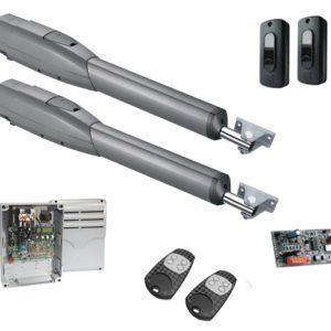 ATS50АGS — комплект телескопических приводов с автоматикой CAME для распашных ворот со створками весом до 1000 кг и шириной до 5 м