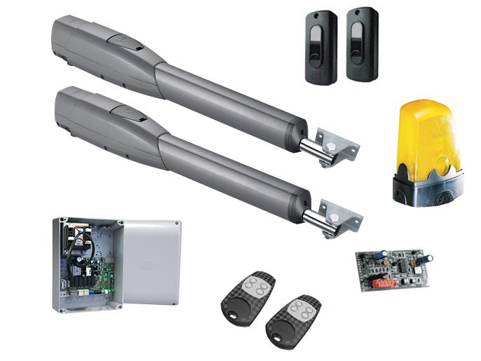 CAME ATS30DGS — комплект 8K01MP-029 высокоинтенсивной автоматики для распашных ворот со створками длиной до 3 метров