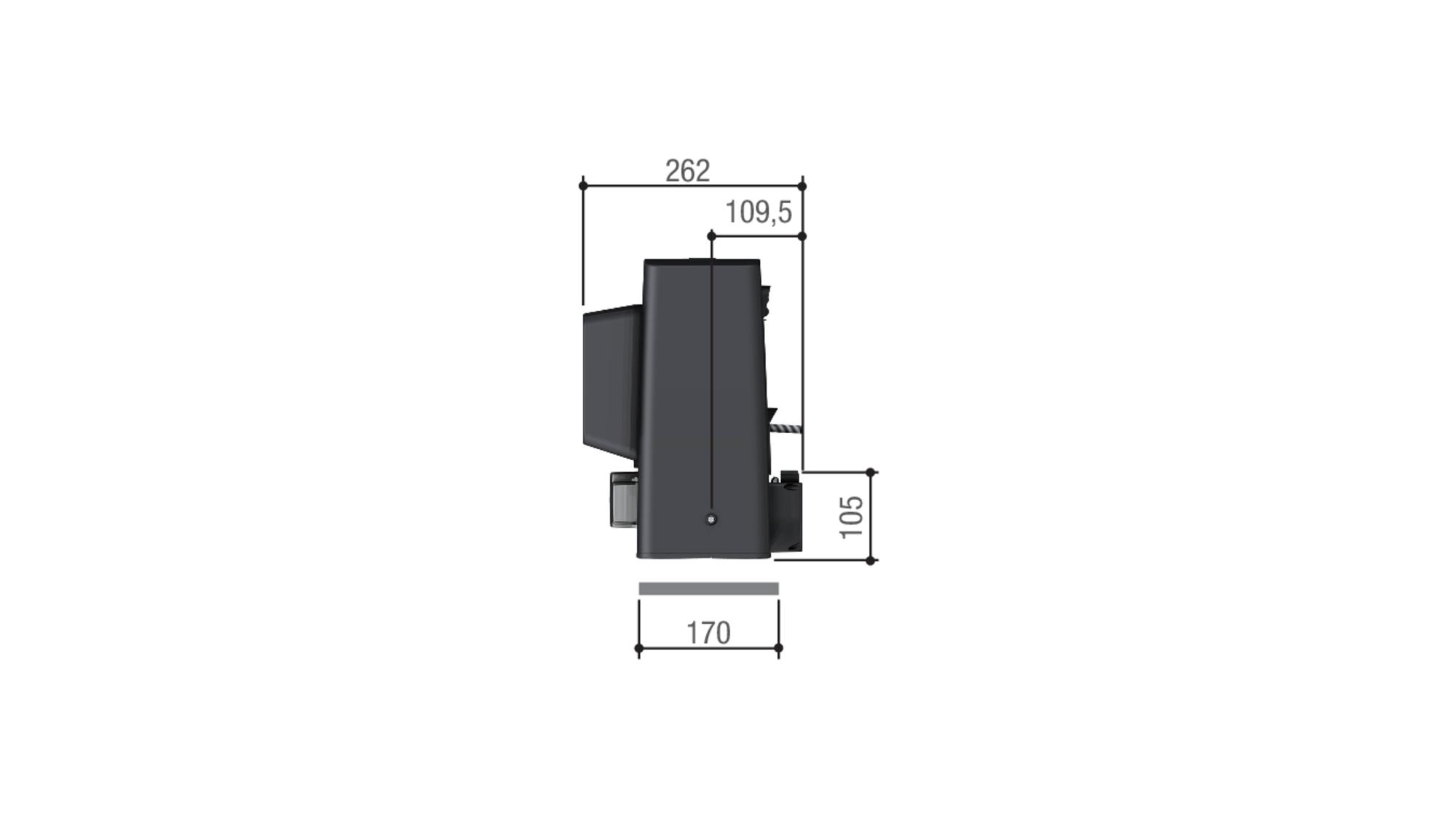 CAME BKS 12 — привод 230 В для откатных ворот