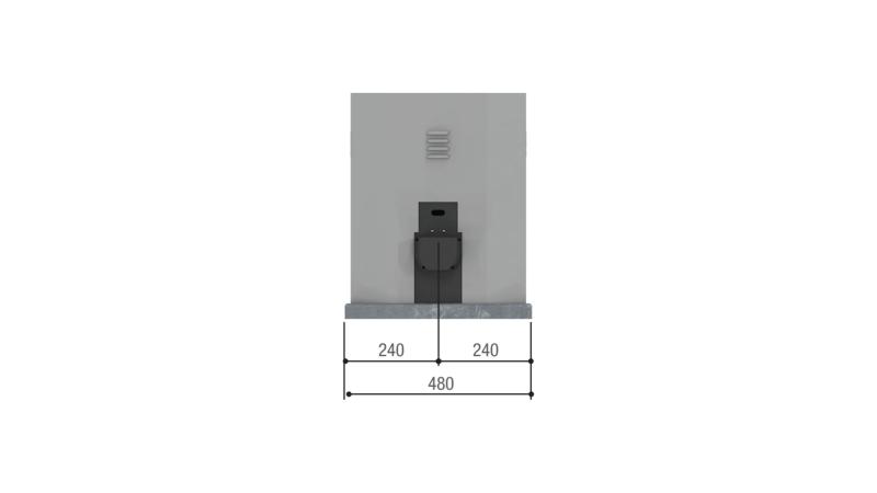 CAME BY-3500T — привод 380 В для откатных ворот весом до 3500 кг