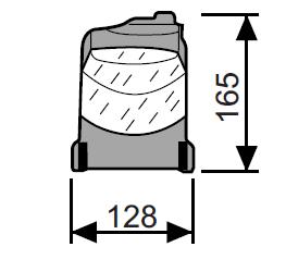 CAME E456 — привод 230 В с установкой на полотно ворот