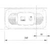 CAME FERNI 1024 — комплект автоматики интенсивного использования для распашных ворот с широкими колоннами